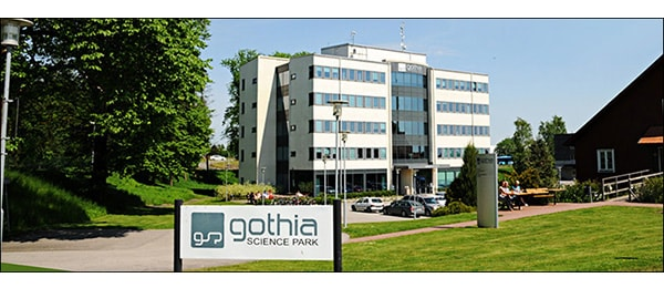 We are located at Växthuset, Gothia Science Park Skövde